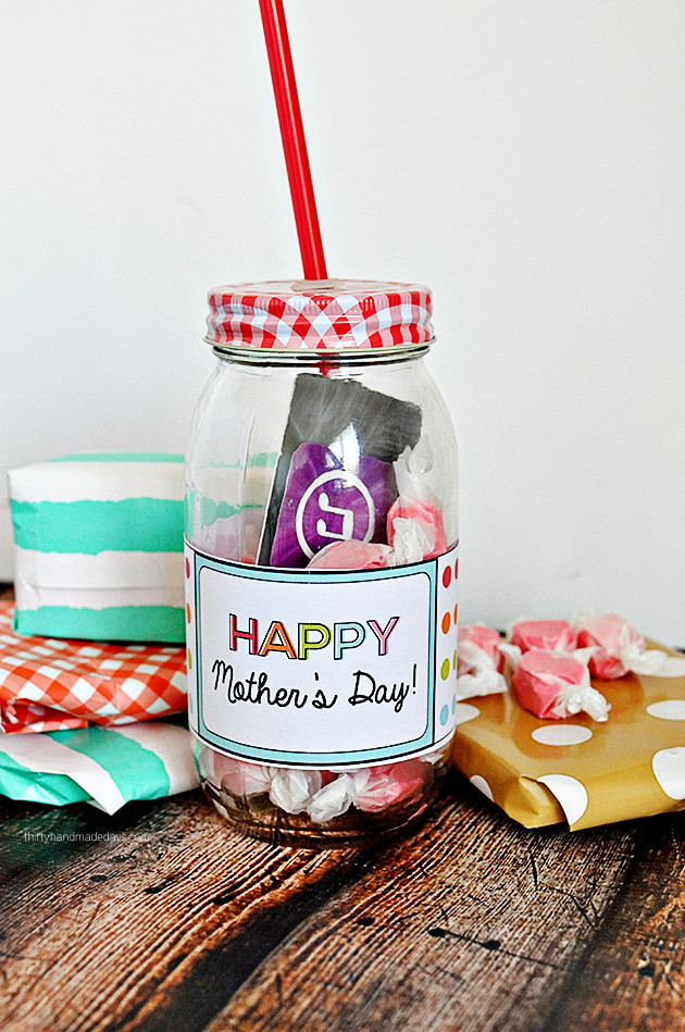 Simple Mother'S Day Gift Ideas  Happy Mother s Day Printable Want Need Love
