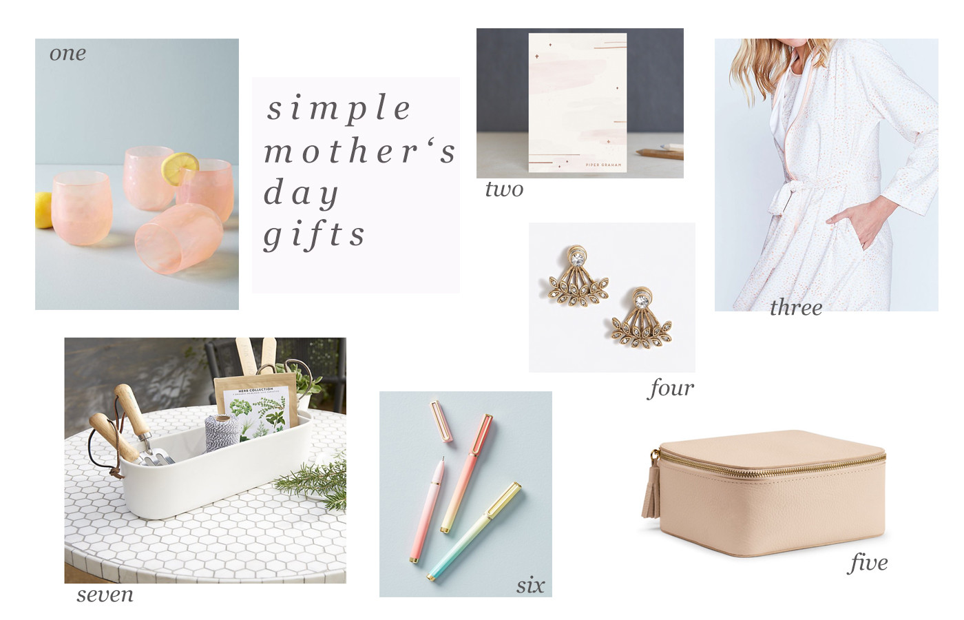 Simple Mother'S Day Gift Ideas  Simple Mother's Day Gift Ideas – The Small Things Blog