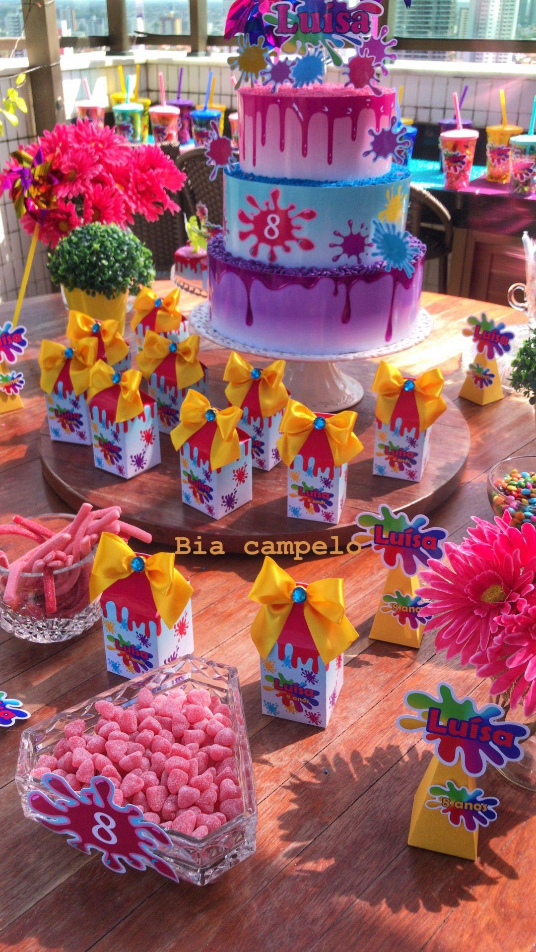 Slime Birthday Party Ideas  SlimeParty birthday Slime Decor