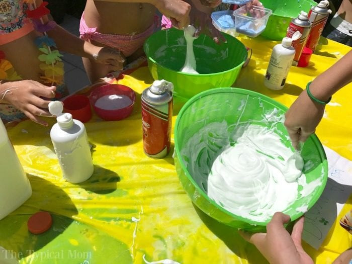 Slime Birthday Party Ideas  How to Throw a Slime Birthday Party · The Typical Mom