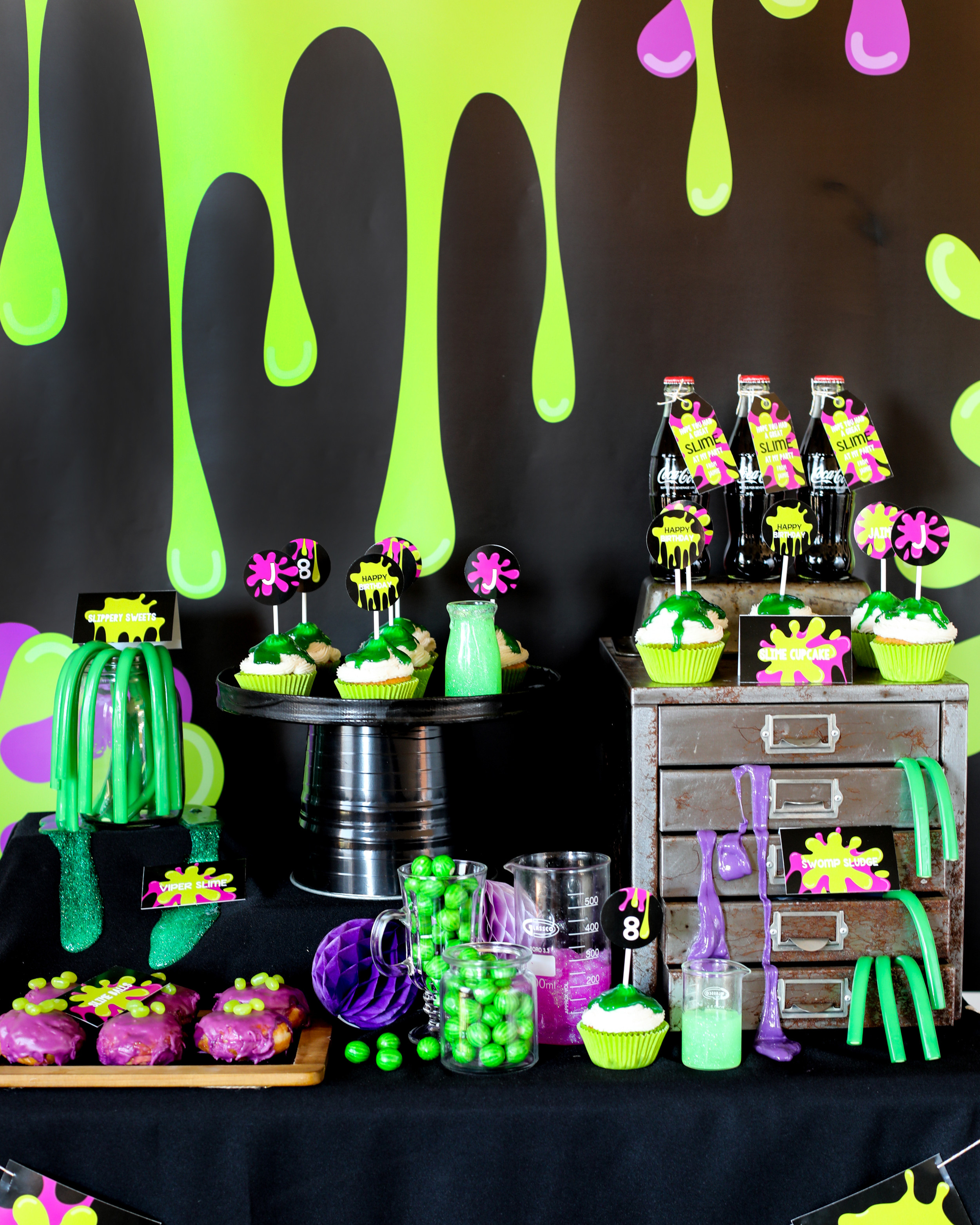 Slime Birthday Party Ideas  How to Throw an Epic Slime Party Sunshine Parties