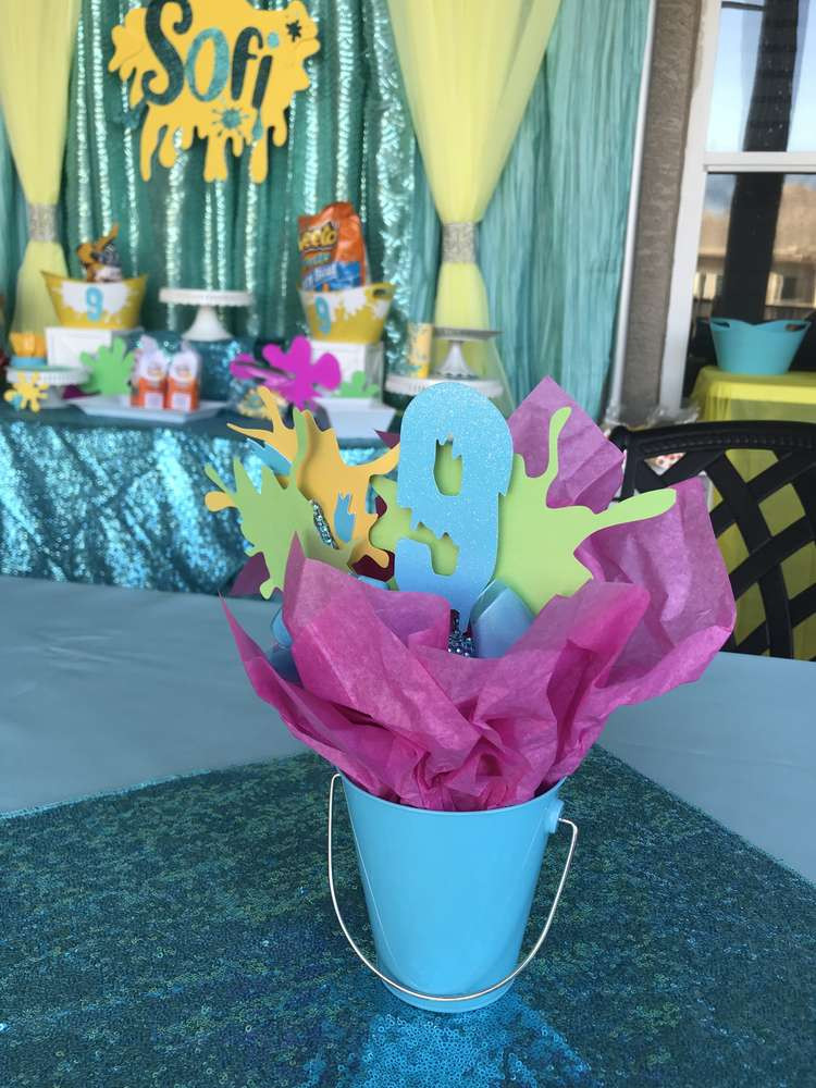 Slime Birthday Party Ideas  Slime Birthday Party Ideas 2 of 34