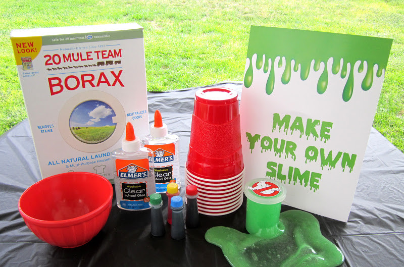 Slime Birthday Party Ideas  Sweeten Your Day Events Ghost Buster Birthday Party