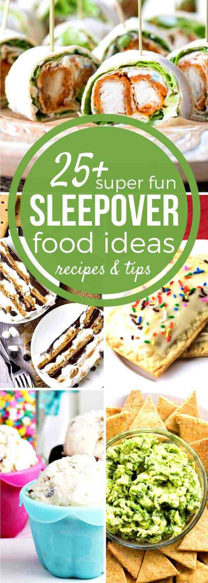 Slumber Party Dinner Ideas  25 Must have Sleepover Food Ideas SundaySupper