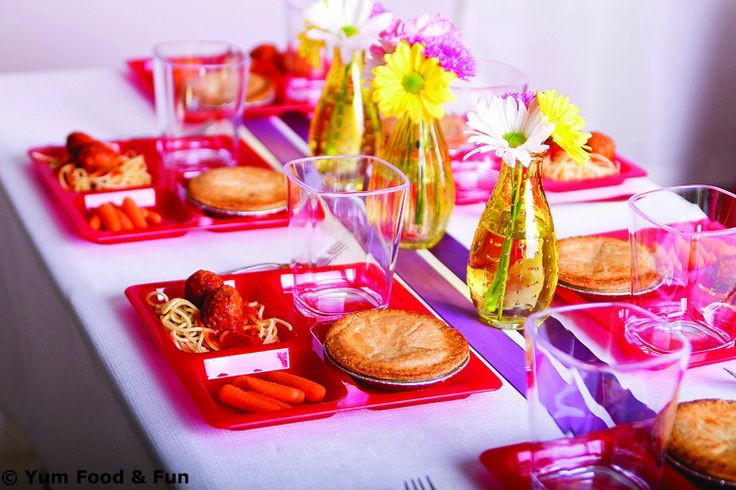 Slumber Party Dinner Ideas  78 Best images about Nighty Night Slumber Parties on