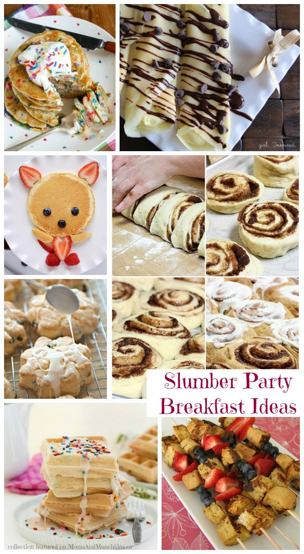 Slumber Party Dinner Ideas  Slumber Party Food For Breakfast Collection Moms