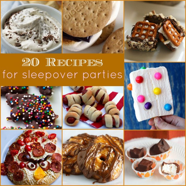 Slumber Party Dinner Ideas  20 Sleepover Party Recipes