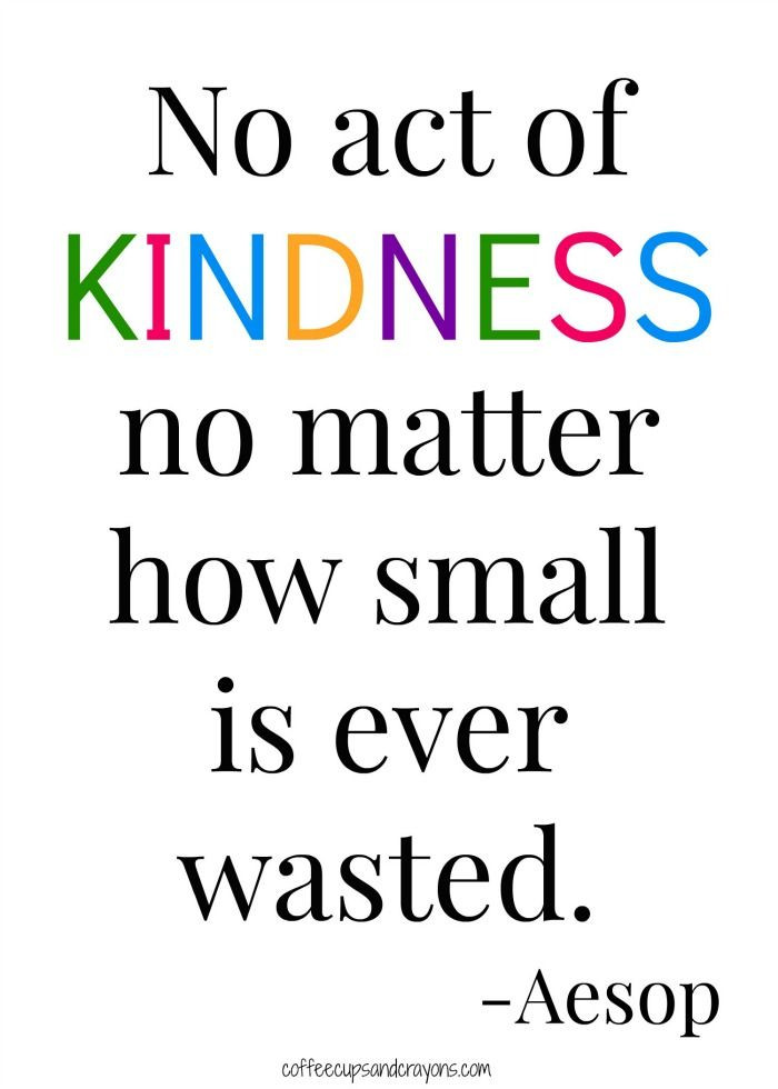 Small Acts Of Kindness Quotes  100 Acts of Kindness Challenge Week 3 New Teachers