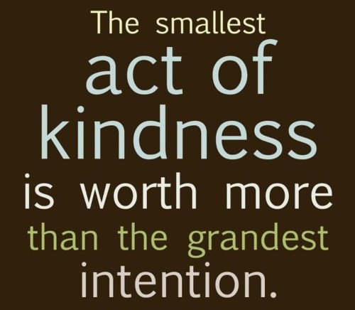 Small Acts Of Kindness Quotes  Random Acts of Kindness Season's Greetings – Positive With