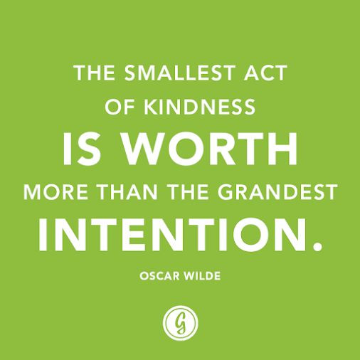 Small Acts Of Kindness Quotes  Little Acts Kindness Quotes QuotesGram