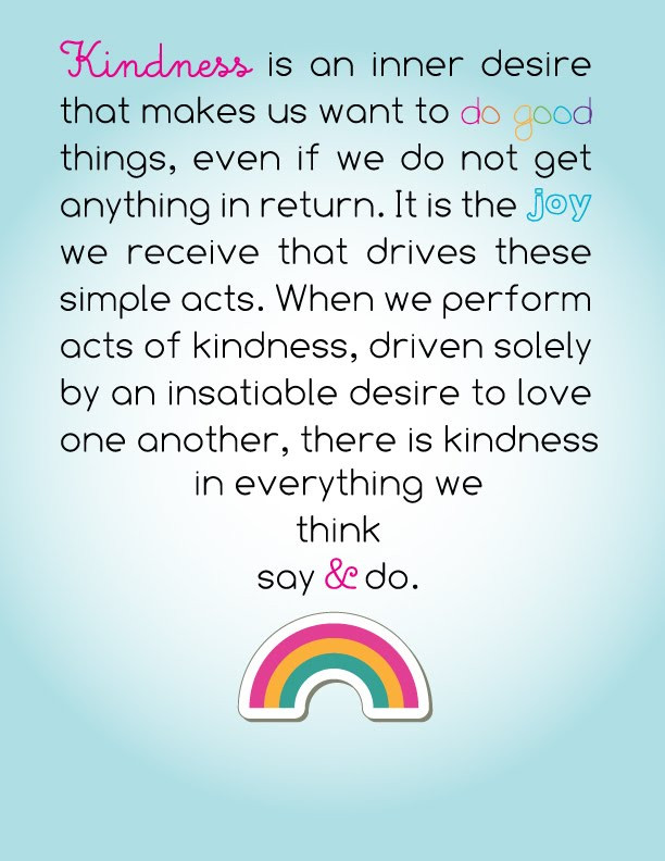 Small Acts Of Kindness Quotes  Small Acts Kindness Quotes QuotesGram