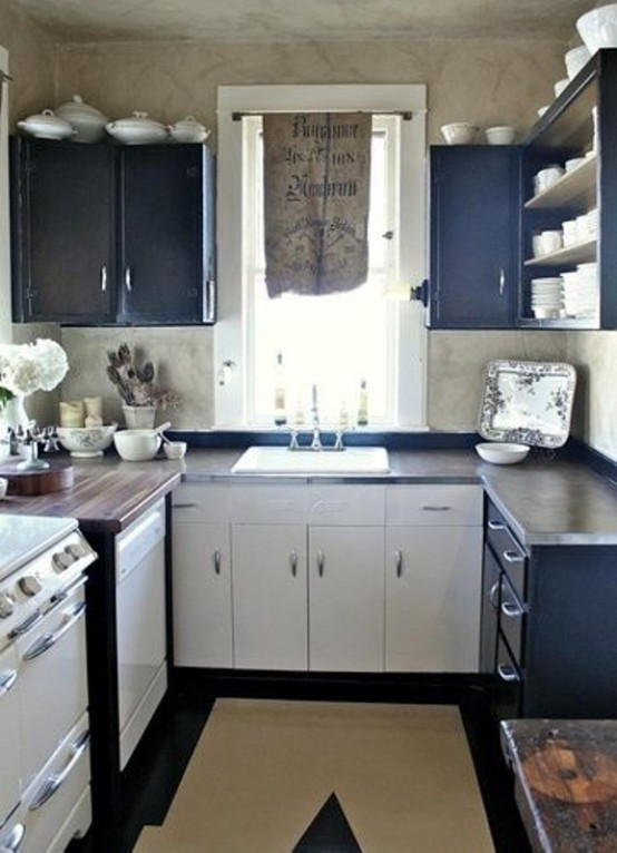 Small Kitchen Layout  45 Creative Small Kitchen Design Ideas DigsDigs