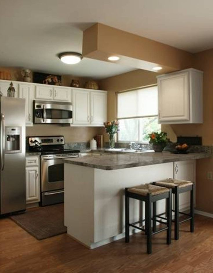Small Kitchen Layout  Best 25 Small kitchen makeovers ideas on Pinterest