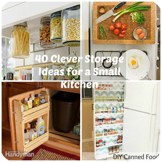 Small Kitchen Organization  40 Clever Storage Ideas for a Small Kitchen