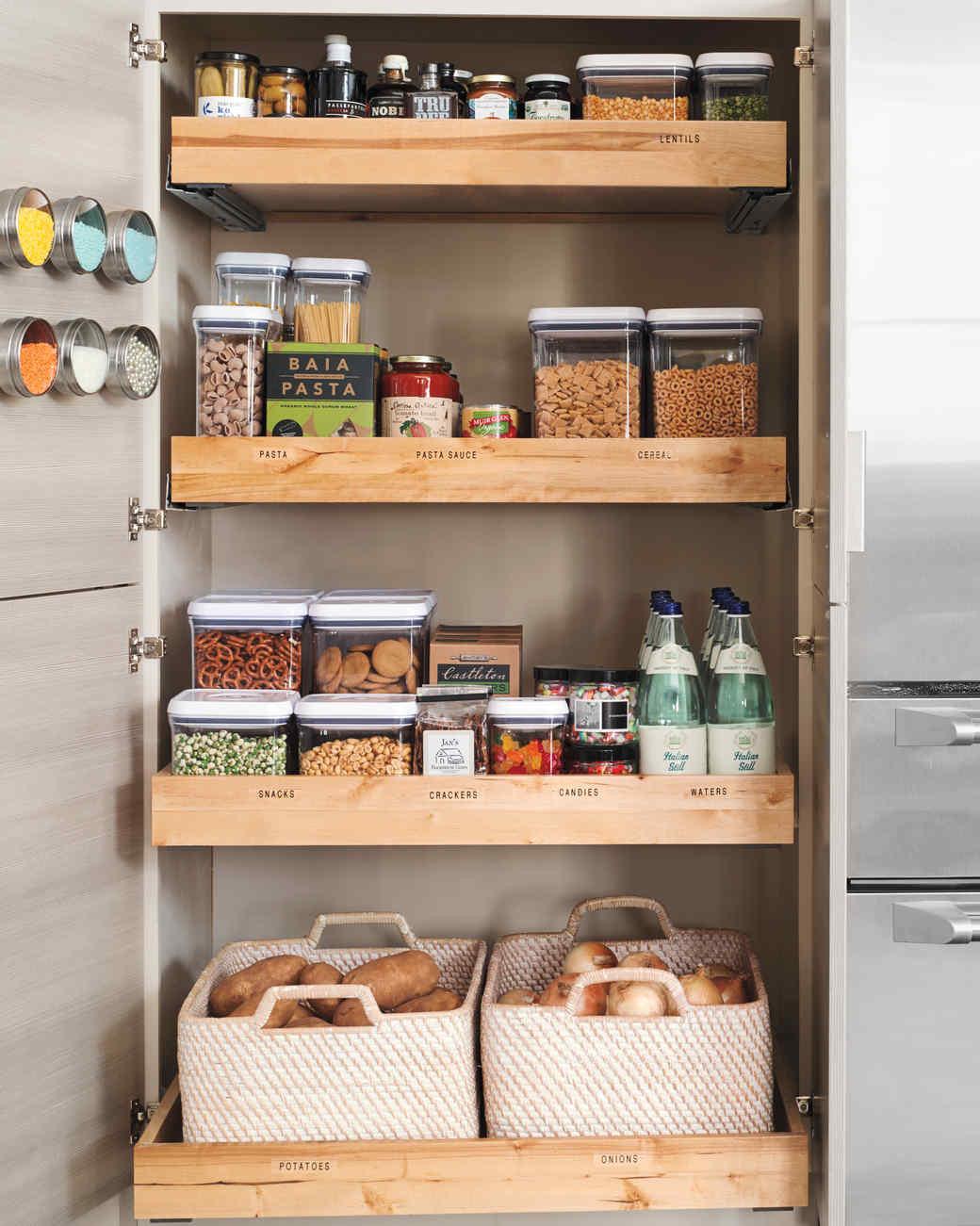 Small Kitchen Organization  10 Best Pantry Storage Ideas