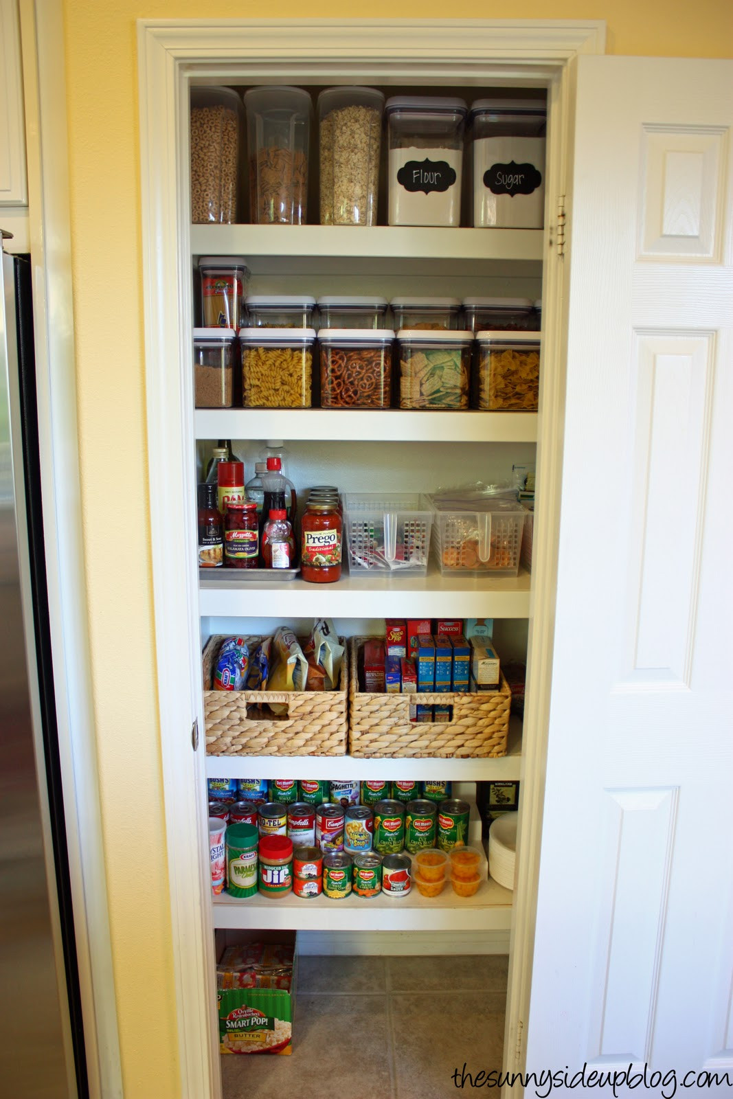 Small Kitchen Organization  Pantry Organization the next level The Sunny Side Up Blog