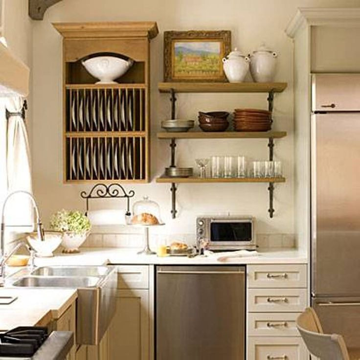 Small Kitchen Organization  Kitchen organization ideas