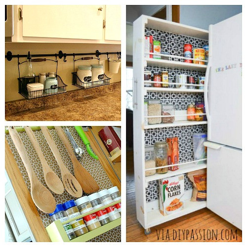 Small Kitchen Organization  10 Ideas For Organizing a Small Kitchen A Cultivated Nest