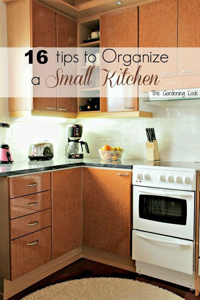 Small Kitchen Organization  1000 ideas about Small Kitchen Organization on Pinterest