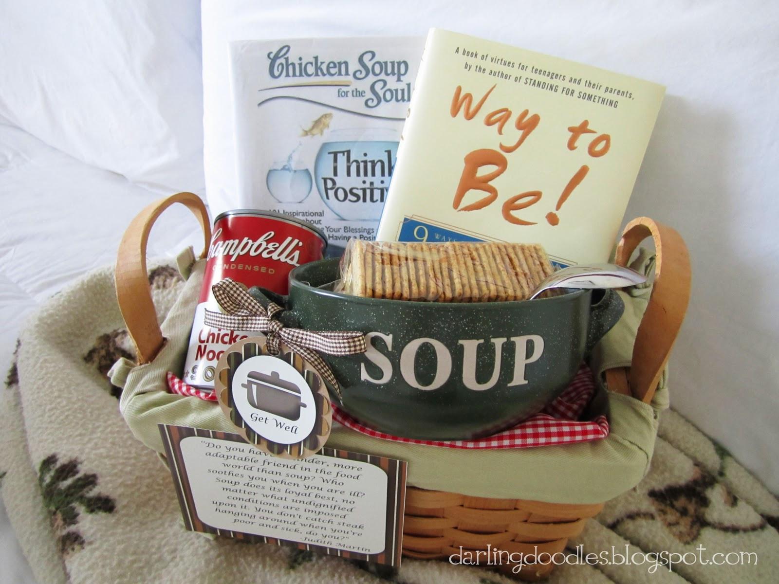 Soup Gift Basket Ideas