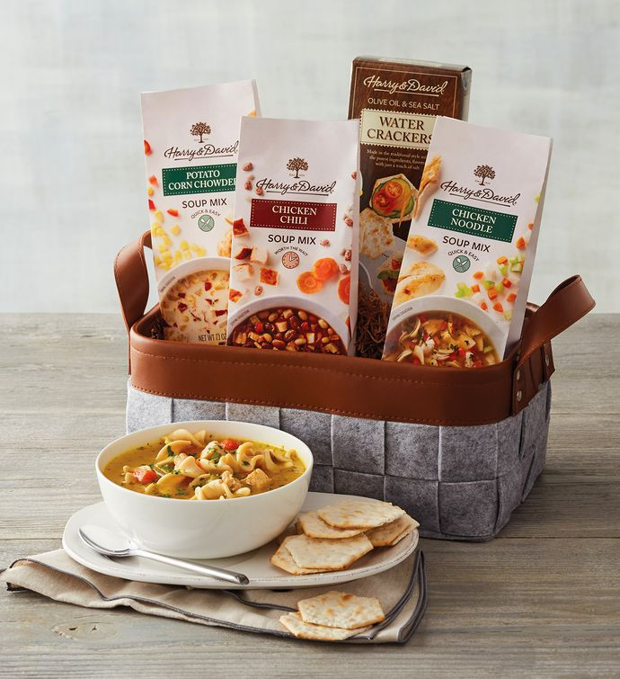 Soup Gift Basket Ideas  Soup Gift Basket Gourmet Soup Gifts