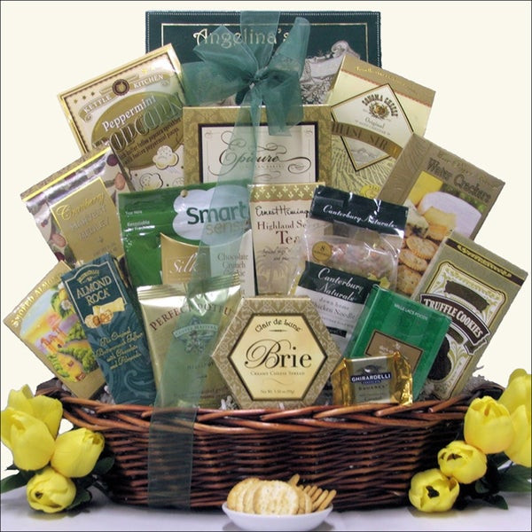 Soup Gift Basket Ideas  Soup s Get Well Gift Basket Overstock Shopping