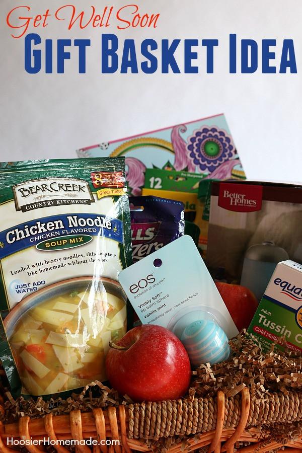 Soup Gift Basket Ideas  Gift Basket Idea Get Well Soon Hoosier Homemade