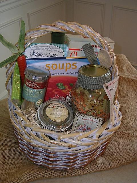 Soup Gift Basket Ideas  Soup s Gift Basket