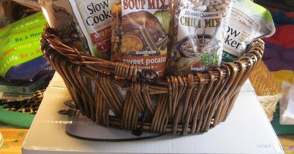 Soup Gift Basket Ideas  raffle baskets on pinterest