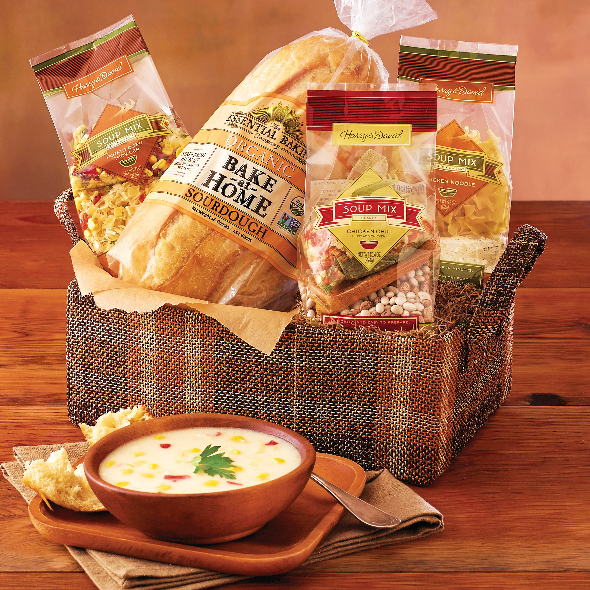 Soup Gift Basket Ideas  click on image to zoom