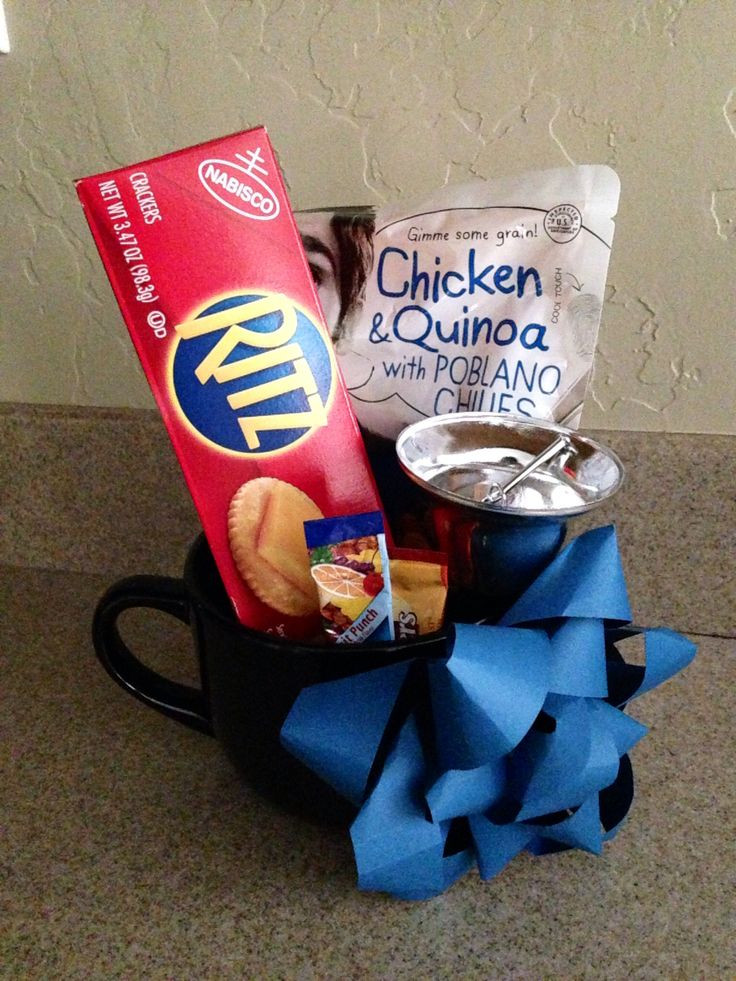 Soup Gift Basket Ideas  31 best Get well ts images on Pinterest