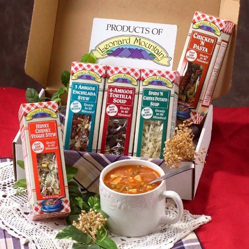 Soup Gift Basket Ideas  5 Soup Sampler Gift Set Gourmet Giftsandwish