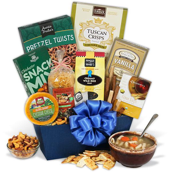 Soup Gift Basket Ideas  Soup Gift Basket by GourmetGiftBaskets