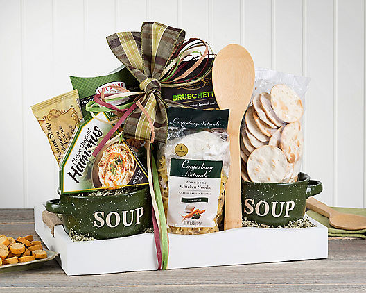 Soup Gift Basket Ideas  Soup Gift Baskets Deluxe Soup Gift Basket with Free