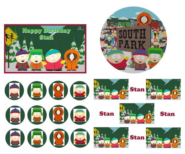 South Park Birthday Card  17 Best images about Cake Themes on Pinterest