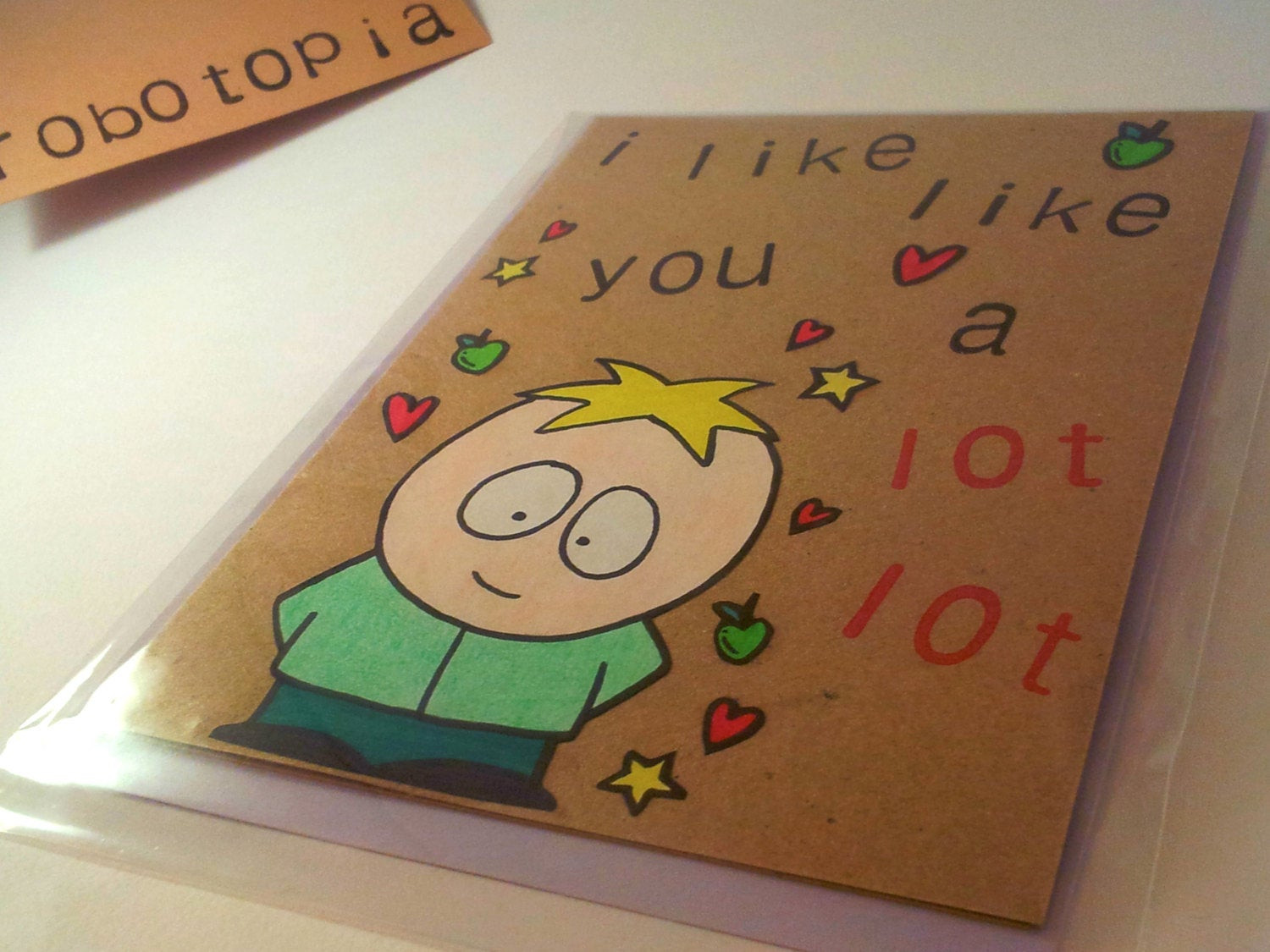 South Park Birthday Card  Butters Stotch South Park Greeting Card
