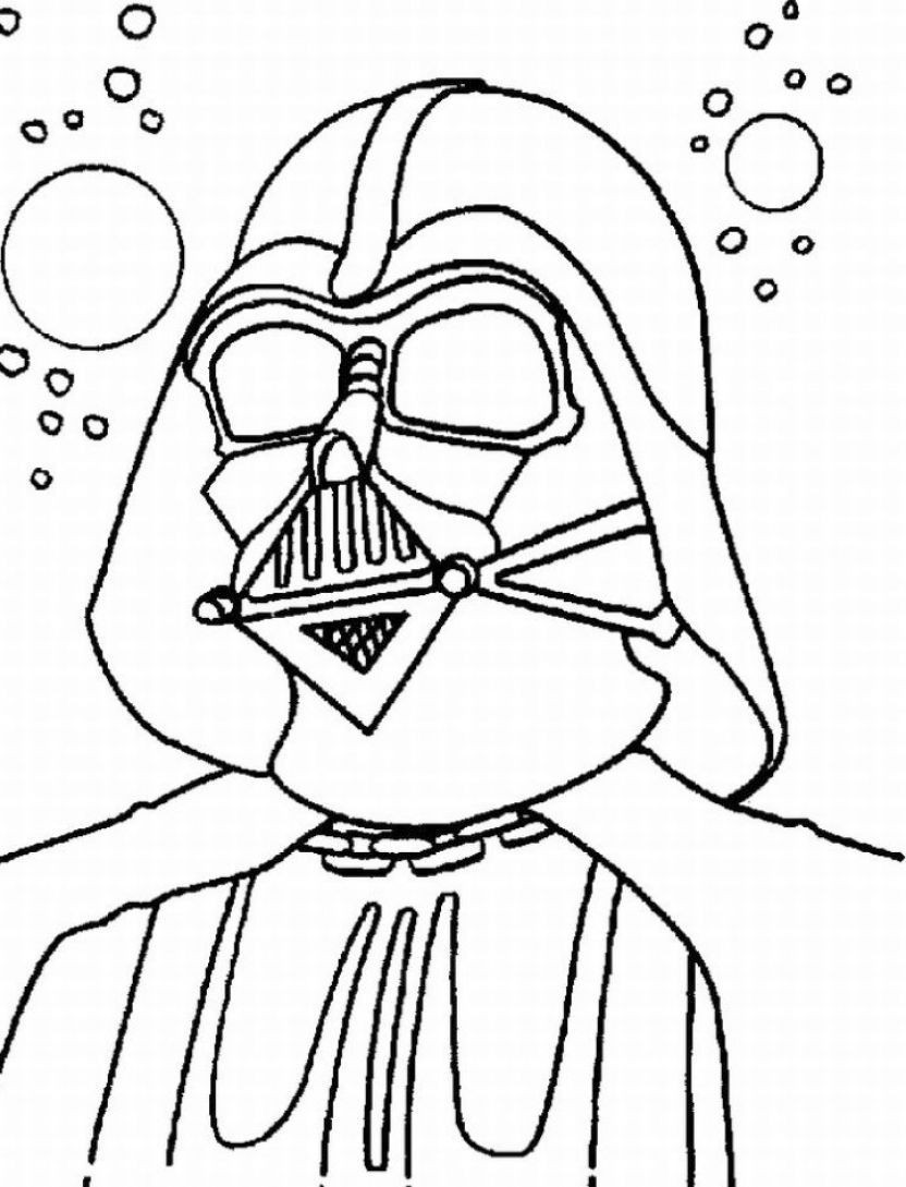 Star Wars Christmas Coloring Pages  Star Wars Coloring Pages Free Printable Star Wars