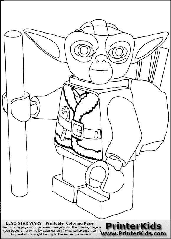Star Wars Christmas Coloring Pages  Lego Star Wars Coloring Pages