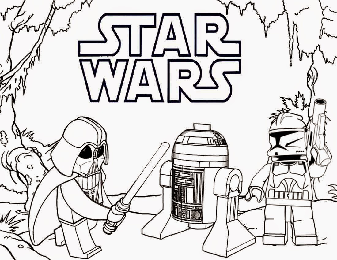 Star Wars Christmas Coloring Pages  Free Coloring Pages Printable To Color Kids