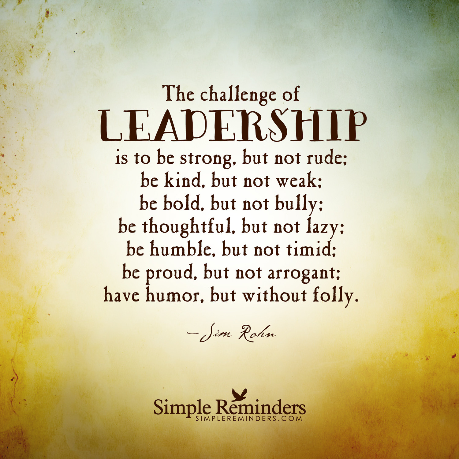 Strong Leadership Quotes  quotes on leadership