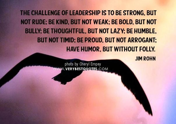 Strong Leadership Quotes  What Makes a Good Leader