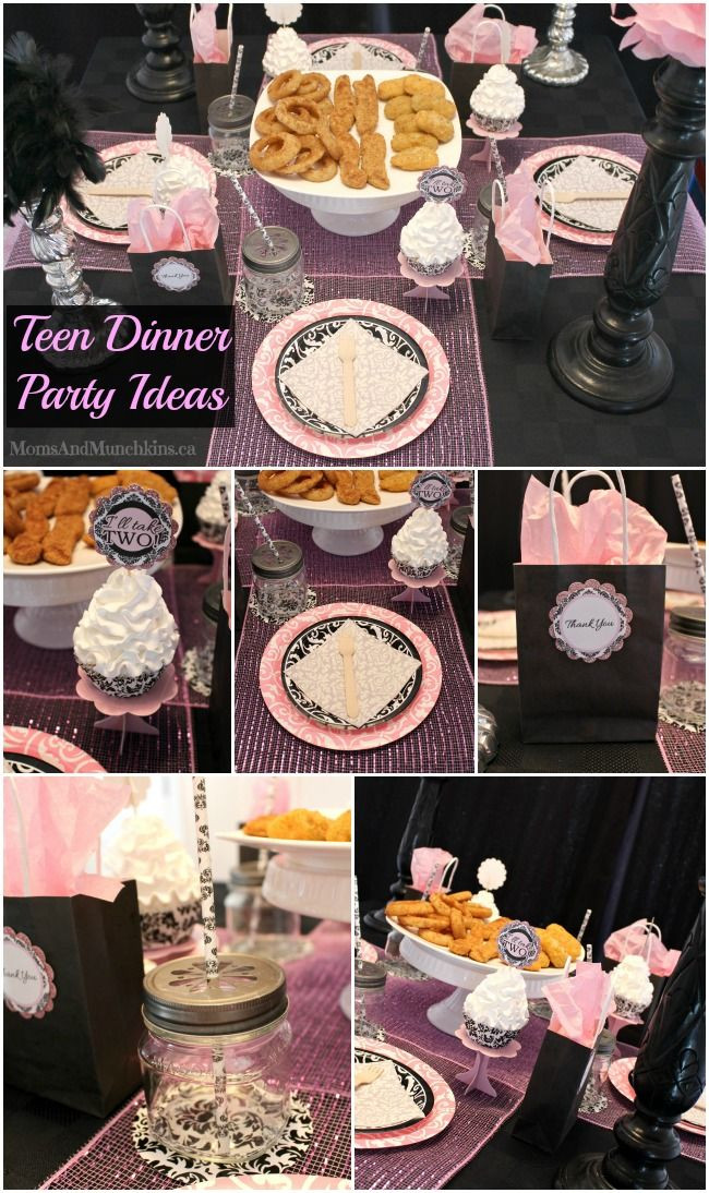 Sweet 16 Dinner Party Ideas  Teen Dinner Party Ideas Sweet 16