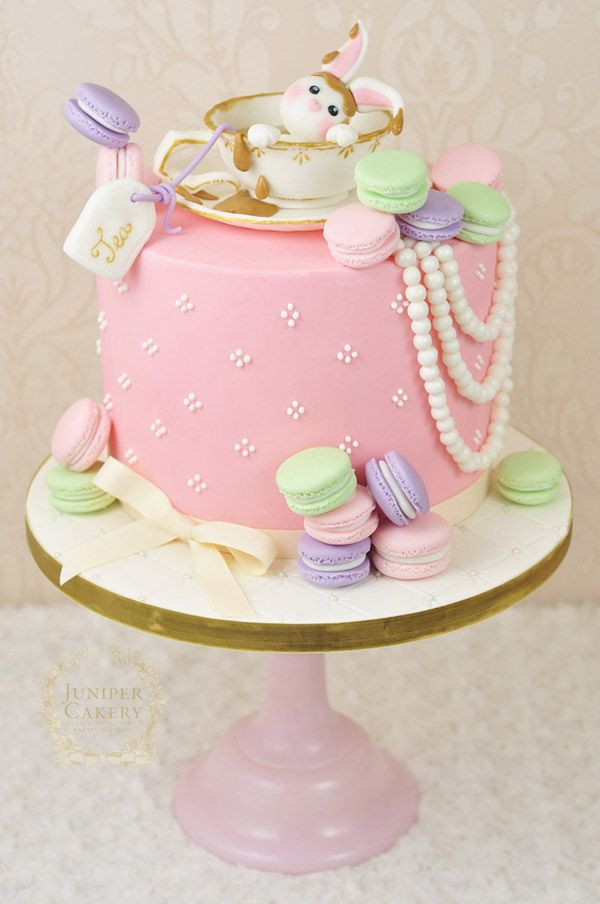 Tea Party Cake Ideas  Best 25 Teacup cake ideas on Pinterest