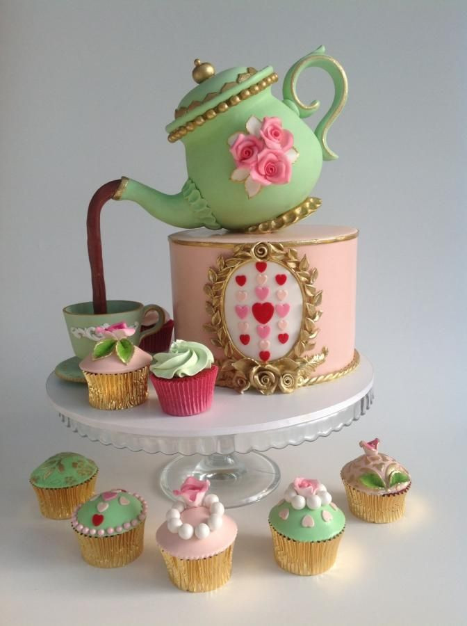 Tea Party Cake Ideas  Tea party cakes by Cleopatra cakes