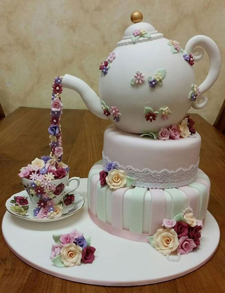 Tea Party Cake Ideas  High Tea Cake ese are the BEST Cake Ideas