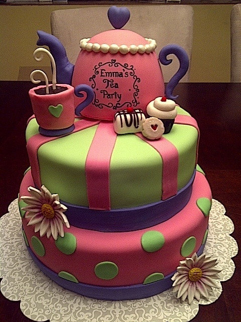 Tea Party Cake Ideas  tea party cake ideas Birthday Party Ideas