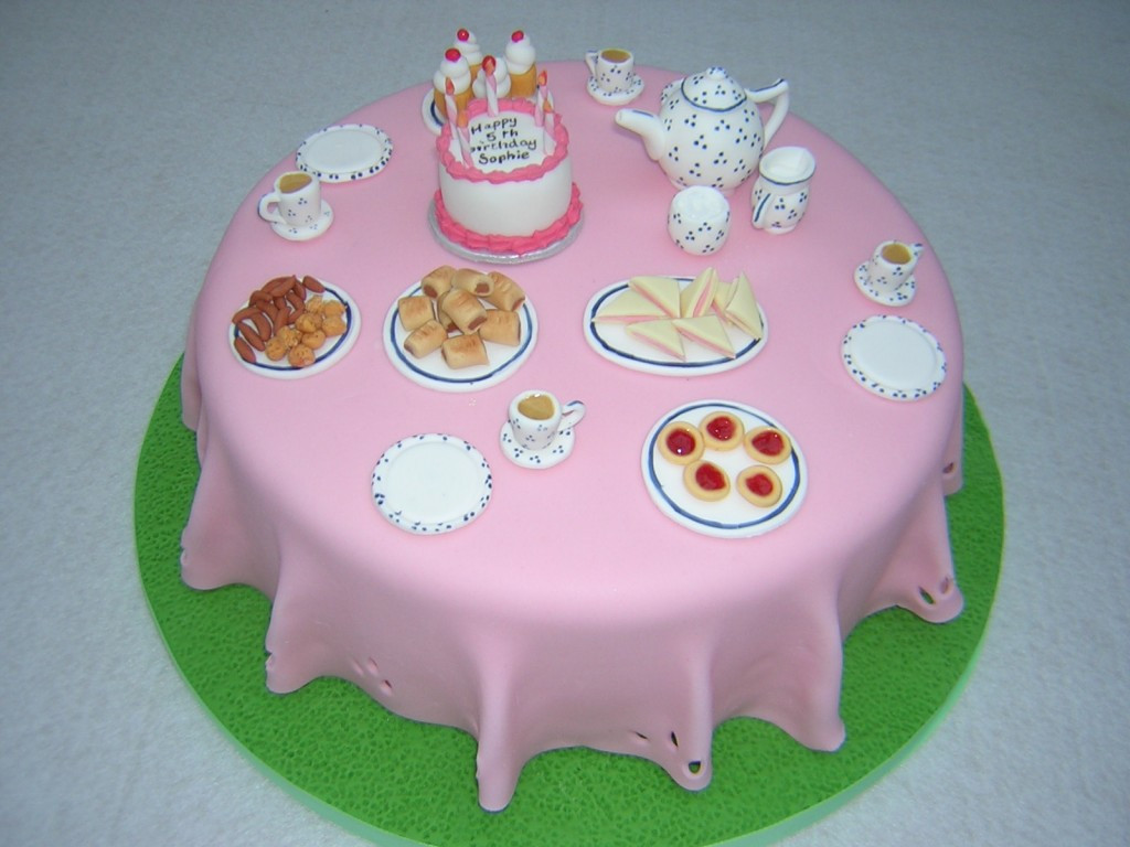 Tea Party Cake Ideas  Tea Party Cakes – Decoration Ideas