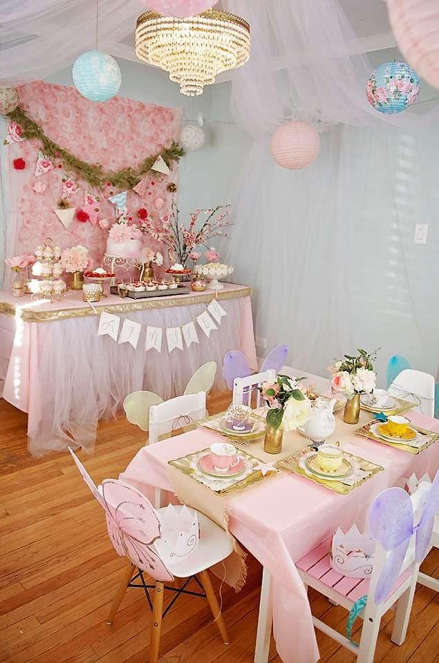 Tea Party Ideas  Garden Tea Party Birthday Party Ideas