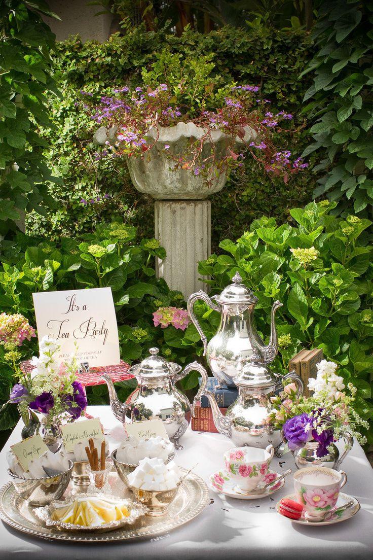 Tea Party Ideas  Summer Tea Party Ideas