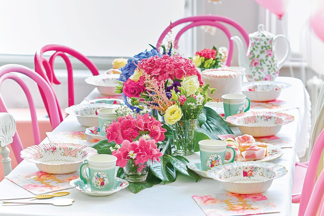 Tea Party Ideas  Plan the Perfect Vintage Tea Party
